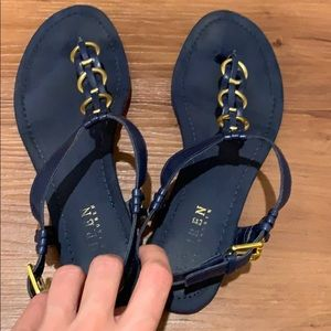 Ralph Lauren dark blue sandals